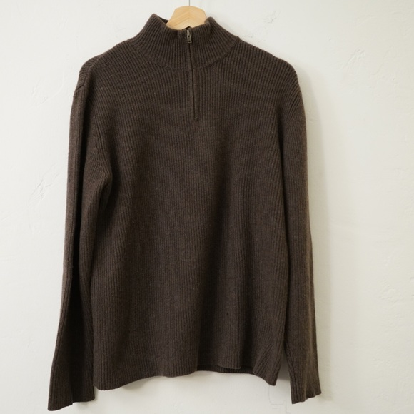 Patagonia Other - PATAGONIA CASHMERE ZIP UP SWEATER